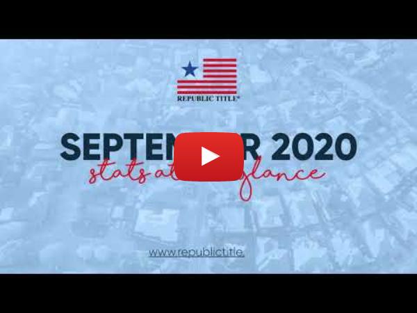 September 2020 Stats